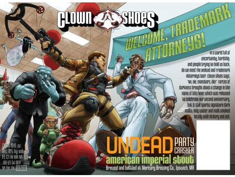 Clown Shoes Undead Party Crasher American Imperial Stout