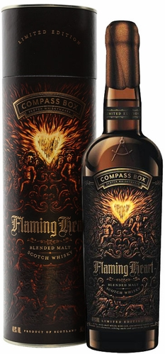 Compass Box Flaming Heart 6th Edition Blended Malt Whisky 2018