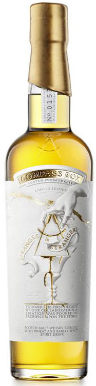 Compass Box Stranger & Stranger Blended Malt Whisky with Wheat & Barley Spirit 750ML
