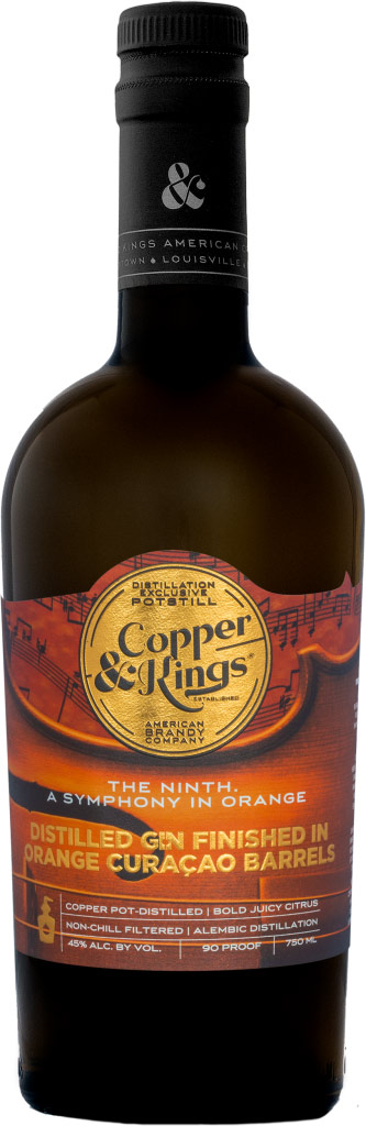 Copper & Kings the Ninth. A Symphony in Orange Gin 750ML
