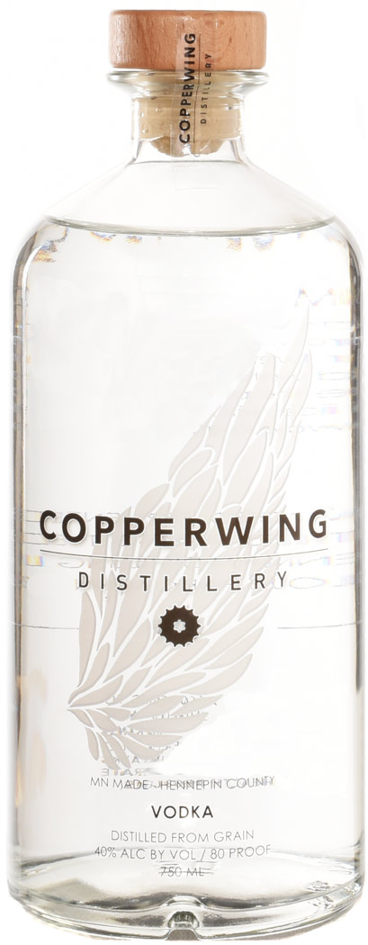 Copperwing Distillery Vodka