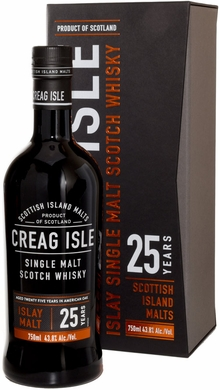 Creag Isle 25 Year Old Islay Single Malt Scotch Whisky