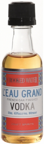 Crooked Water Leau Grand French Oak Finished Vodka 50ml