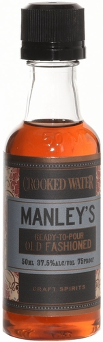 Crooked Water Manley's Old Fashioned Ready to Pour Cocktail 50ml