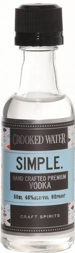 Crooked Water Simple Vodka 50ml
