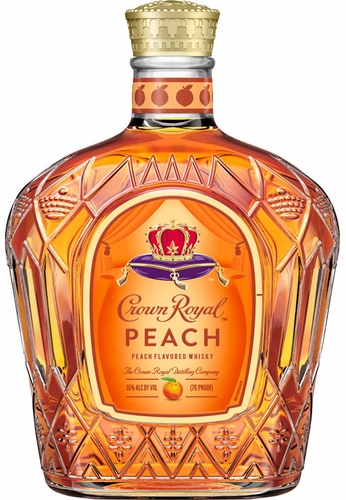 Crown Royal Peach Flavored Canadian Whisky (LIMIT 1)