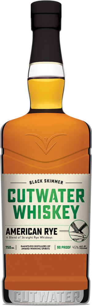 Cutwater Black Skimmer American Rye Whiskey 750ML