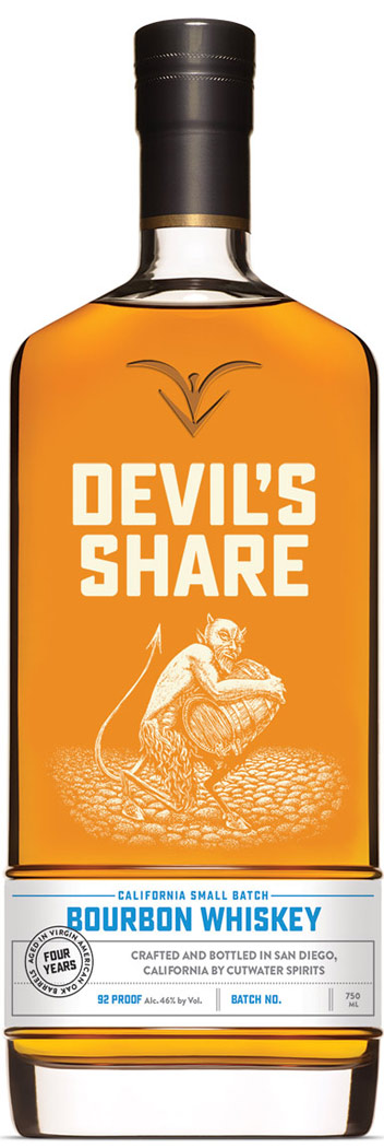 Cutwater Devils Share Bourbon Whiskey