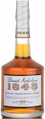 David Nicholson 1843 Straight Bourbon Whiskey