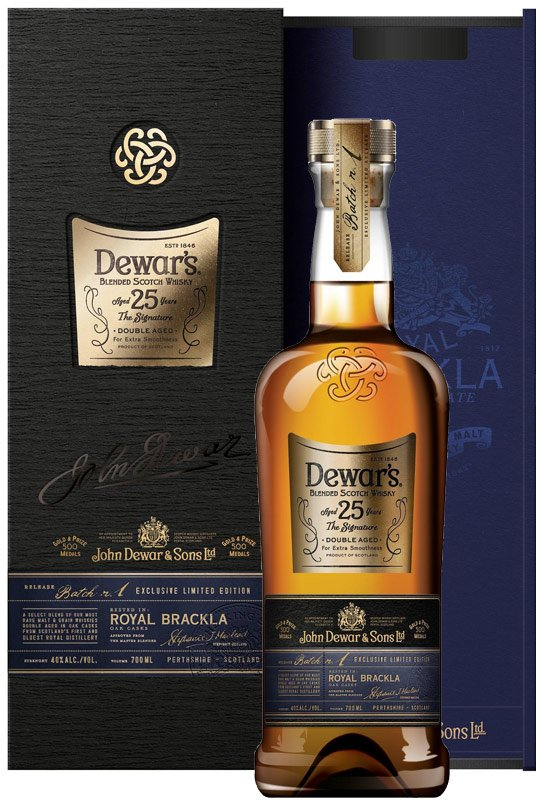 Dewars Signature 25 Year Old Blended Scotch 750ML