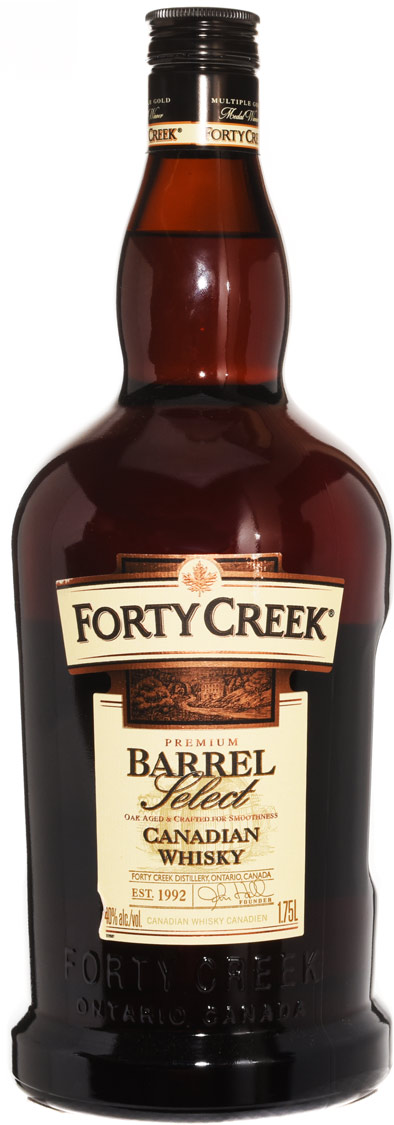 Forty Creek Barrel Select Canadian Whisky 1.75L