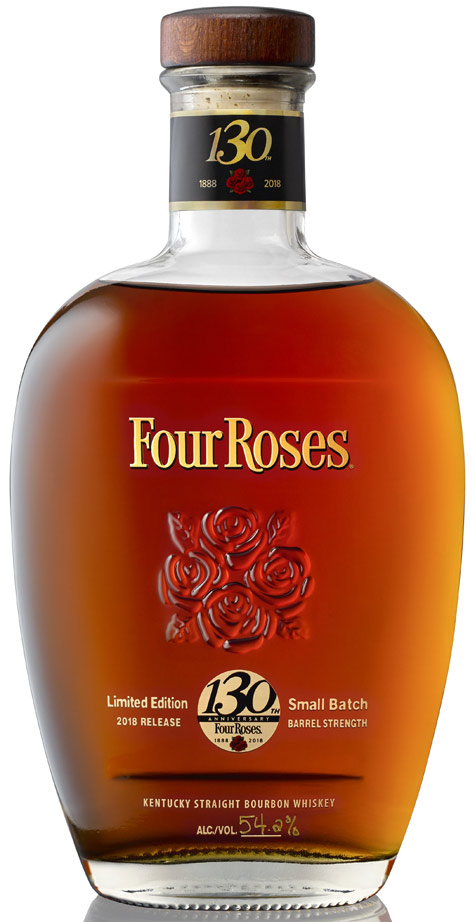 Four Roses Small Batch Bourbon 130th Anniversary 2018 Release