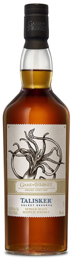 Game of Thrones House Greyjoy Talisker Select Reserve Single Malt Scotch