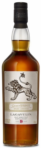 Game of Thrones House Lannister Lagavulin 9 Year Old Single Malt Scotch 750ML