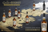 Game of Thrones Series Eight Single Malt Scotch Whisky Collection- Six of Eight