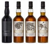 Game of Thrones Series Eight Single Malt Scotch Whisky Collection- Four of Eight (Limit One Set)