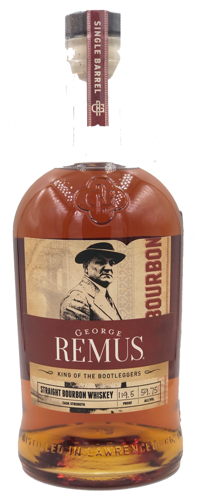 George Remus Straight Bourbon Whiskey - Ace Spirits Single Barrel 750ML