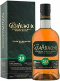 GlenAllachie 10 Year Old Cask Strength Single Malt Scotch (batch 1) 750ML