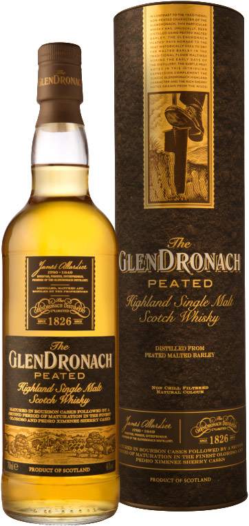 Glendronach Peated Single Malt Scotch