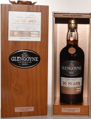 Glengoyne 30 Year Old Highland Single Malt Scotch Whiskey 750ML