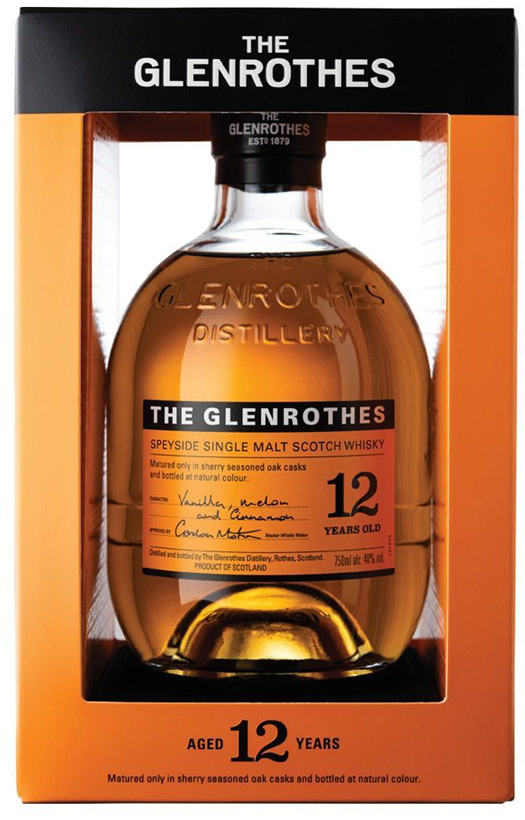 Glenrothes 12 Year Old Single Malt Scotch