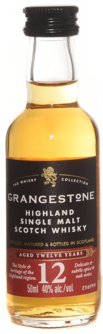 Grangestone 12 Year Old Single Malt Scotch 50ml