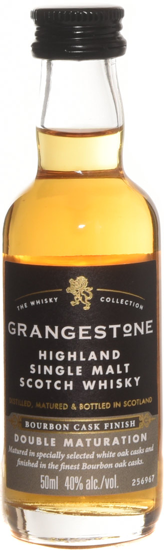 Grangestone Bourbon Cask Double Cask Matured Single Malt Scotch 50ml