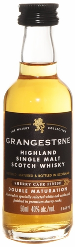 Grangestone Sherry Cask Double Cask Matured Single Malt Scotch 50ml