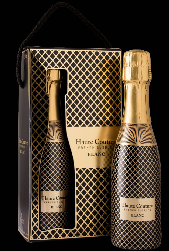 Haute Couture French Bubbles Blanc Sparkling Wine 187ML
