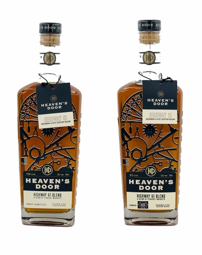 Heavens Door Single Barrel 2 Pack: Heavens Door Single Barrel Blended by Blenders Select and Heavens Door Single Barrel Blended by Ace Spirits