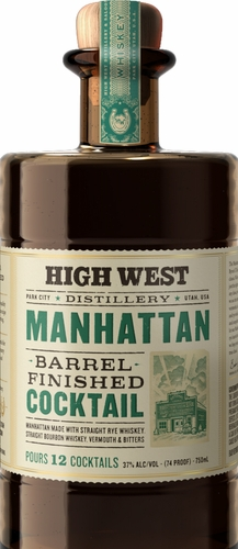High West Barrel Aged Manhattan 750ML
