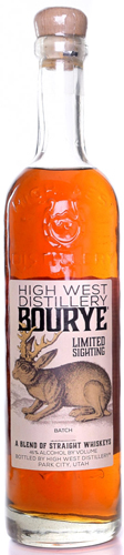 High West Bourye Whiskey Limited Sighting Release