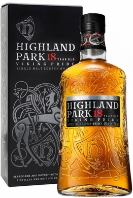 Highland Park 18 Year Old Viking Pride Single Malt Scotch 750ML