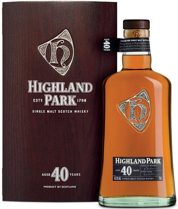 Highland Park 40 Year Old Single Malt Scotch 750ML