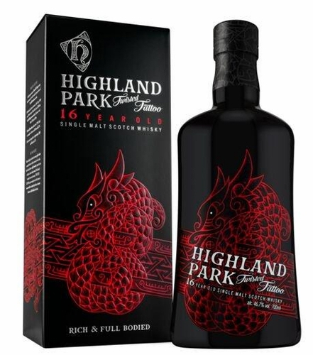Highland Park Twisted Tattoo 16yr 750ML