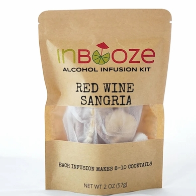 Inbooze Red Wine Sangria 1 oz Pouch