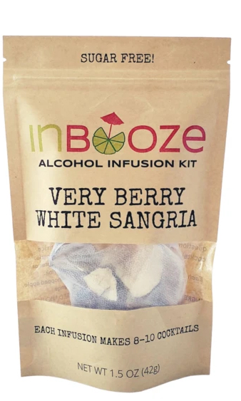 Inbooze Very Berry White Sangria 1 oz Pouch
