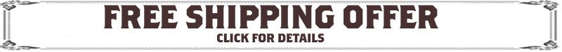 Free Shipping Offer - click for details