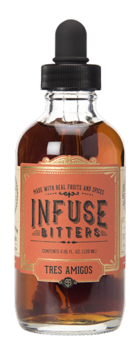 Infuse Bitters Tres Amigos 120ML