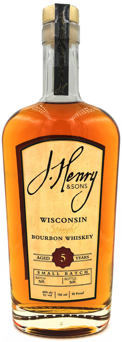 J. Henry & Sons 5 Year Old Small Batch Bourbon