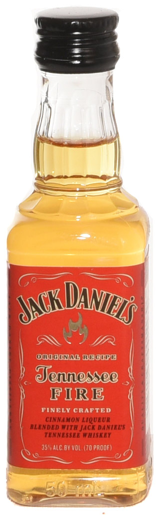 Jack Daniel's Tennessee Fire Flavored Whiskey 50ML