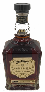 Jack Daniels Single Barrel Barrel Proof Whiskey (LIMIT 1) 750ML