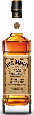 Jacks Daniels No.27 Gold Double Barreled Tennessee Whiskey