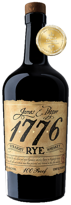 James E Pepper 1776 Straight Rye Whiskey 100pf 750ML