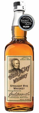 James E Pepper Old Henry Clay Straight Rye Whiskey 86 Pf 750ML
