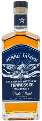 Jesse James Single Barrel Tennesee Whiskey 750ML