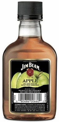 Jim Beam Apple Flavored Bourbon 100ML