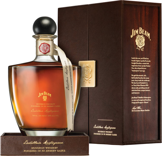 Jim Beam Distillers Masterpiece Bourbon Finished in PX Sherry Casks