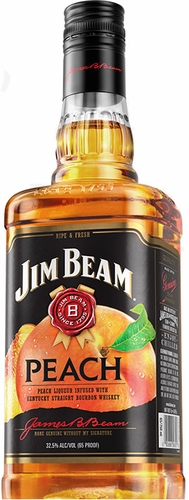 Jim Beam Peach Flavored Bourbon 1L