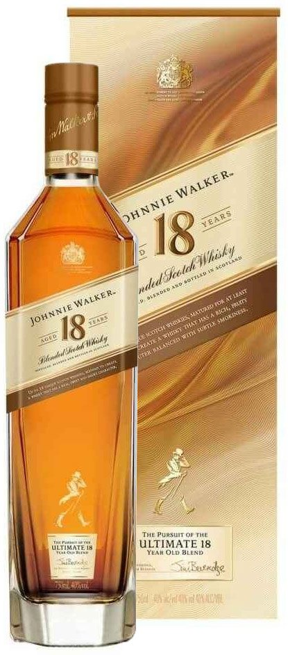 Johnnie Walker 18 Year Old Blended Scotch 750ML